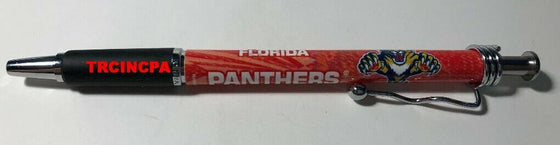 Officially Licensed NHL Ball Point Pen(4 pack) - Pick Your Team - FREE SHIPPING (Florida Panthers)