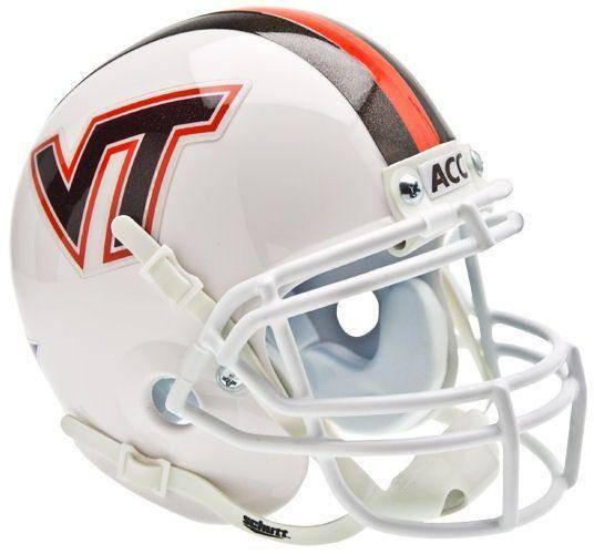 Virginia Tech Hokies Maroon VT Mini Helmet