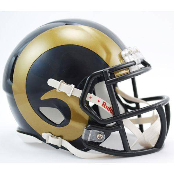 Los Angeles Rams NFL Speed Mini Helmet