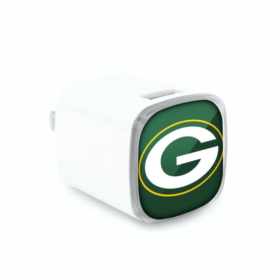 Green Bay Packers Dual USB Wall Charger