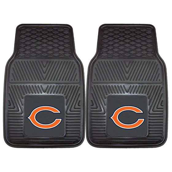 NFL Chicago Bears Heavy Duty Vinyl Front Seat Car Mats