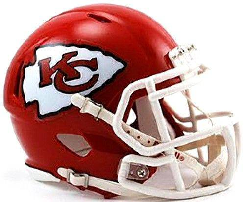 Kansas City Chiefs NFL Speed Mini Helmet