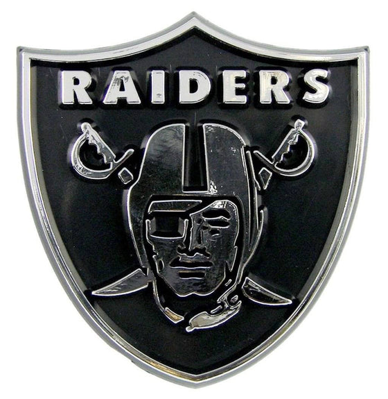 NFL Oakland Raiders Chrome Automobile Car Emblem