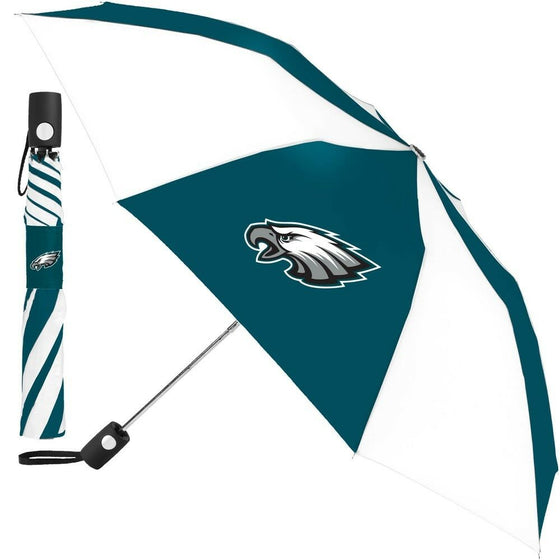 "Wincraft NFL - 42"" Auto Folding Umbrella - Pick Your Team - FREE SHIP (Philadelphia Eagles)"