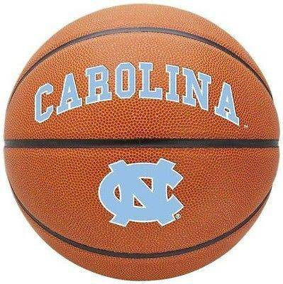 North Carolina Tarheels Triple Threat Full Size Basketball with Team Logo