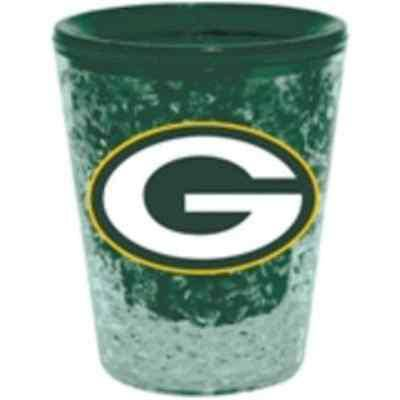 NFL Green Bay Packers Freezer Gel 2 oz Shot Glass - 757 Sports Collectibles