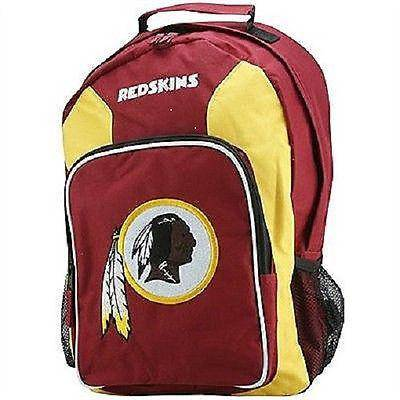 NFL Washington Redskins Embroidered Team Logo Southpaw Backpack - 757 Sports Collectibles