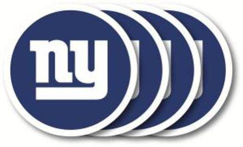 New York Giants Coaster 4 Pack Set - 757 Sports Collectibles