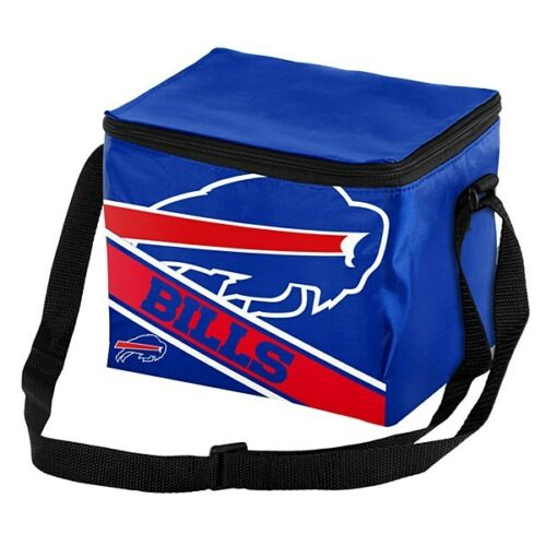 NFL Big Logo 12 Pack Cooler Bag - Pick Your Team - FREE SHIPPING (Buffalo Bills)