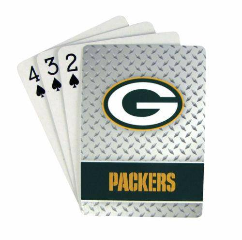 Green Bay Packers Playing Cards Full Deck Standard Size