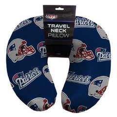 "12""x13"" NFL Travel Neck Pillow - New England Patriots"