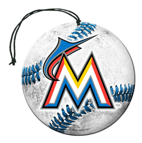 Team Promark - MLB - Air Freshener (3 Pack) - Pick Your Team - FREE SHIP (Miami Marlins)