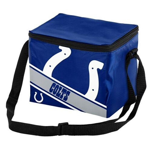 NFL Big Logo 12 Pack Cooler Bag - Pick Your Team - FREE SHIPPING (Indianapolis Colts)