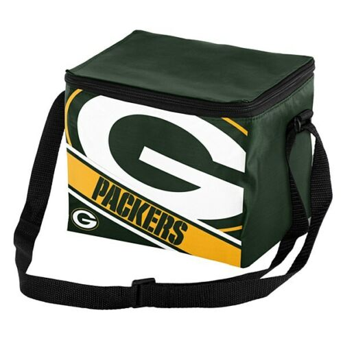 NFL Big Logo 12 Pack Cooler Bag - Pick Your Team - FREE SHIPPING (Green Bay Packers)