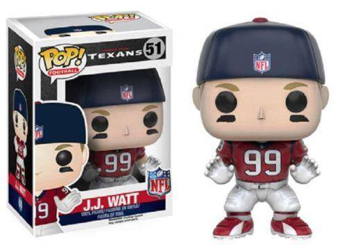 "Houston Texans J.J. Watt Funko Pop Figure 4"" (New in Box)"