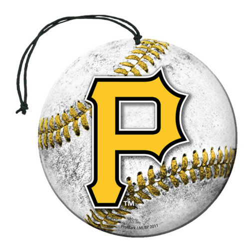 Team Promark - MLB - Air Freshener (3 Pack) - Pick Your Team - FREE SHIP (Pittsburgh Pirates)