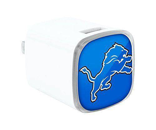 Detroit Lions Dual USB Wall Charger