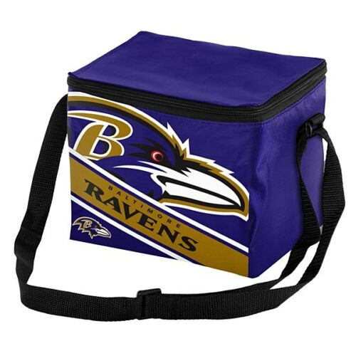 NFL Big Logo 12 Pack Cooler Bag - Pick Your Team - FREE SHIPPING (Baltimore Ravens)
