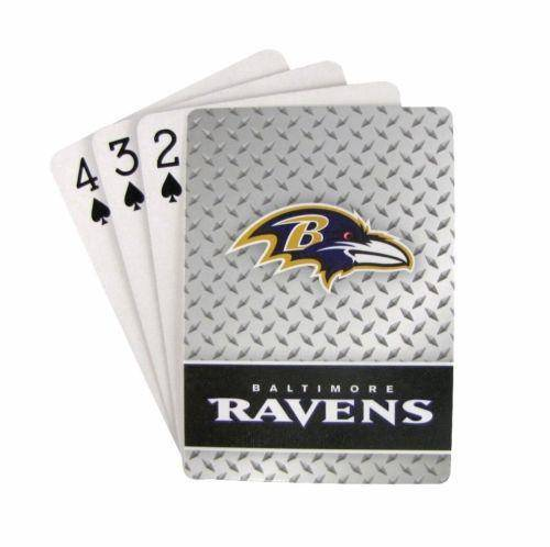 NFL Baltimore Ravens Playing Cards Full Deck Standard Size