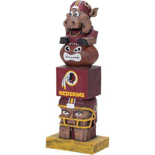 NFL Washington Redskins Tiki Totem Pole Mascot Figurine Statues