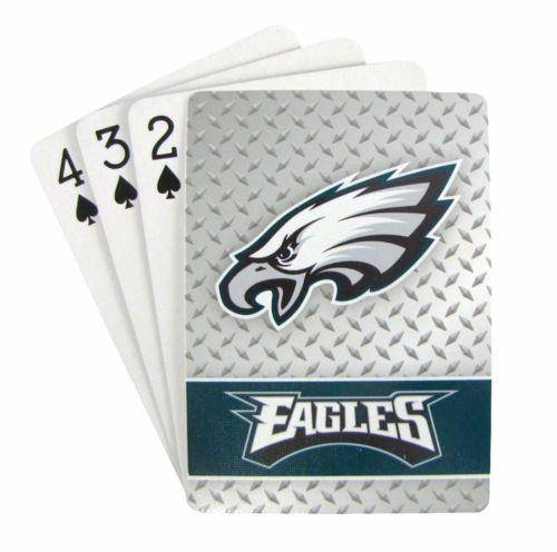 NFL Philadelphia Eagles Playing Cards Full Deck Standard Size