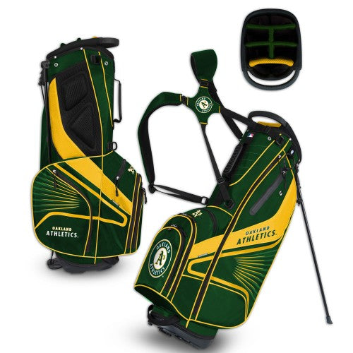 Oakland Athletics A's Stand Golf Bag - Diamond Stand Bag