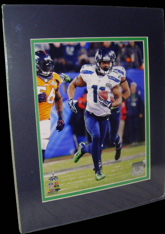 Percy Harvin Seattle Seahawks Super Bowl XLVIII Matted 8x10 Photo Picture Poster Print