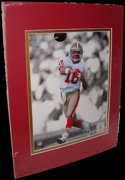 Joe Montana San Francisco 49ers Spotlight Matted 8x10 Photo Picture Poster Print