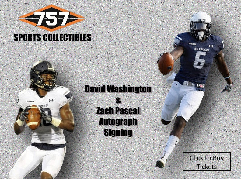 David Washington & Zach Pascal Autograph Signing
