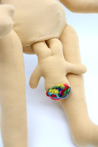Lamaze doll giving birth