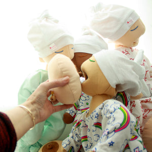 BREASTFEEDING BABY DOLL PUPPET SET
