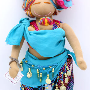 DANCING FOR BIRTH™ BIRTH AND BREASTFEEDING/VBAC DOLL - BLISS