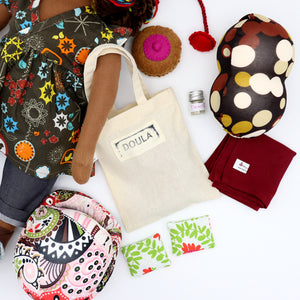 Doula Doll Bag + Accessories