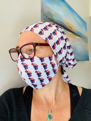 BIRTHY SCRUB HAT - WE CAN DO IT