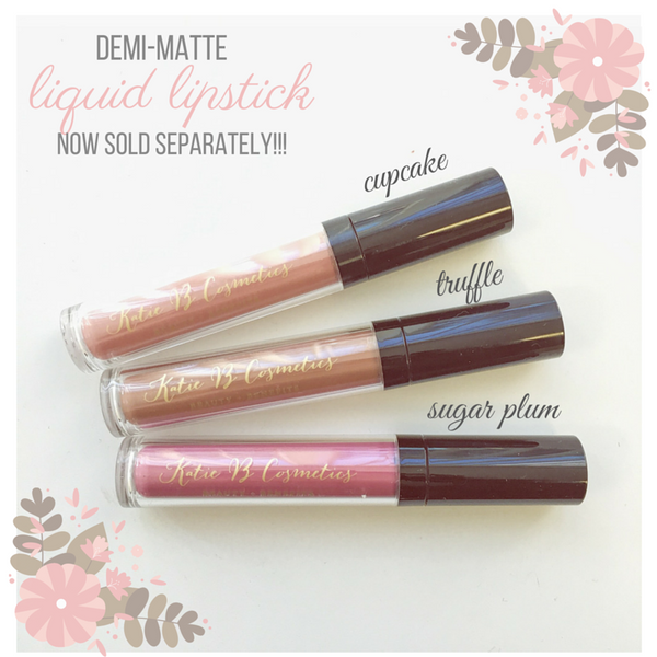 { DEMI-MATTE LIQUID LIPSTICK NOW SOLD SEPARATELY!! ✨}