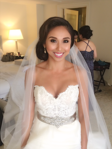 Complete Wedding Makeup G2671 : Get That Look: Beautiful Bride Megan! katiebcosmetics
