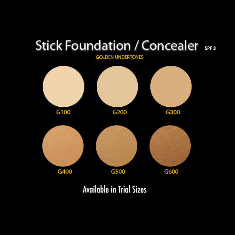 Stick Foundation/Concealer with SPF 8