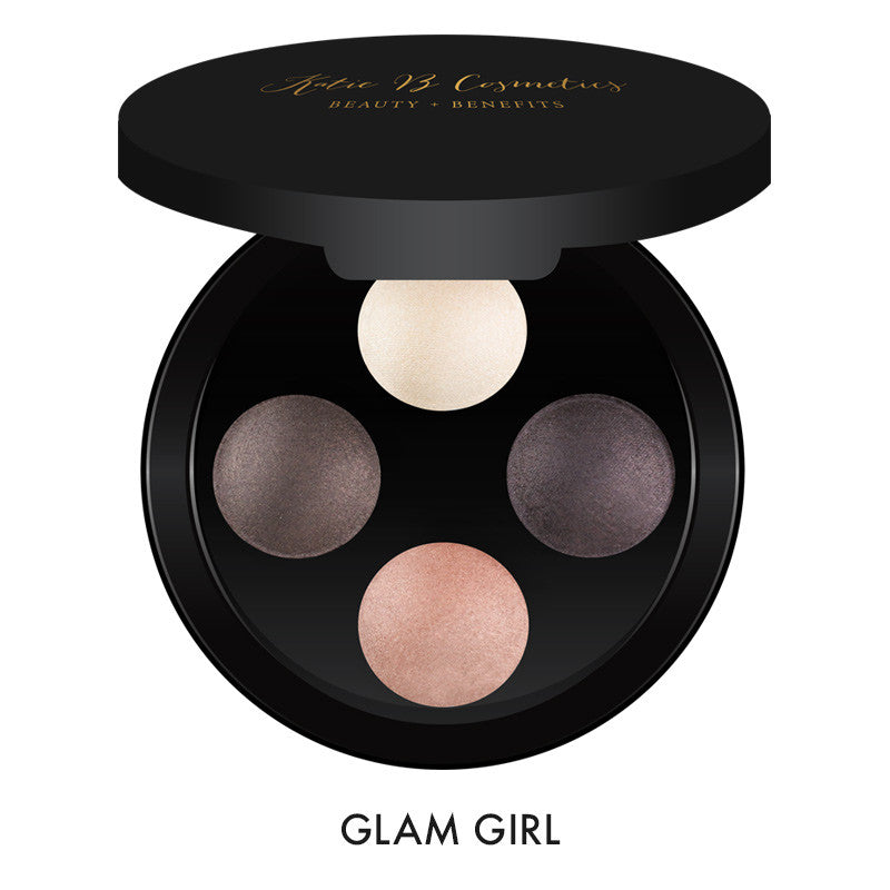 Glam Pressed Pigment Shadow Quads