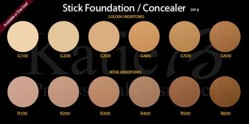 Stick Foundation/Concealer with SPF 8 - Trial Size