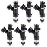 Fuel Injectors, 6pcs 4 Holes Fuel Injector 0280158005 - 16600 7Y000
