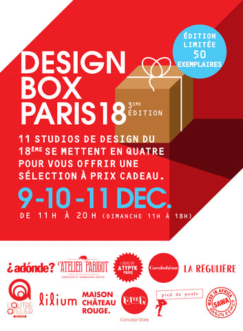 Design Box Paris 18 - Flyer