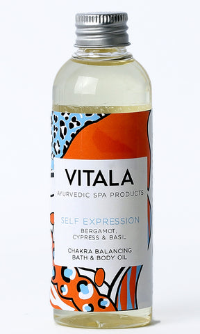 Chakra Balancing Bath and Body Oil - Self Expression