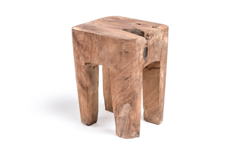 Gommaire Wood Side Table