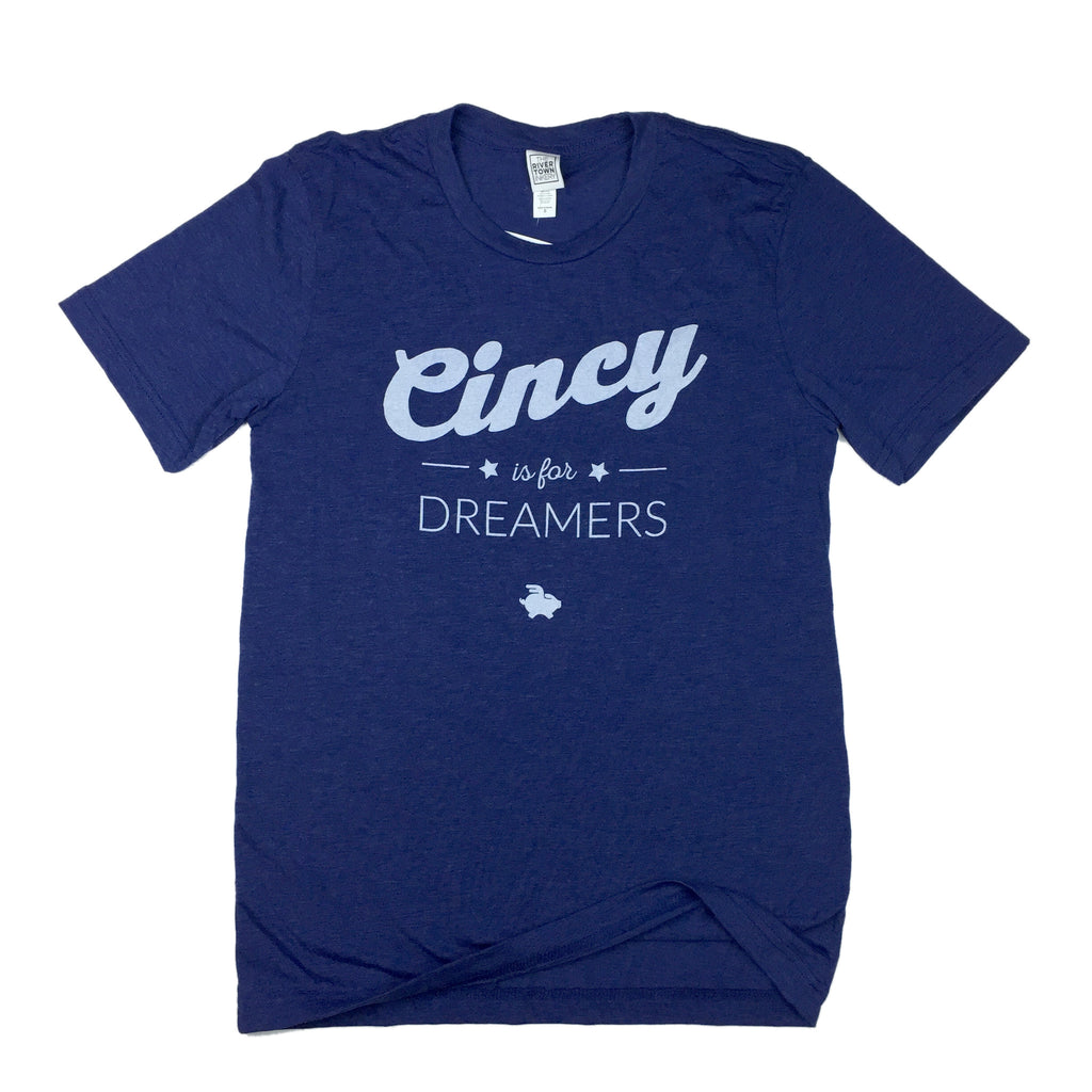Cincy is for Dreamers Tee - Script Design