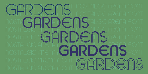 The Rivertown Inkery Font Gardens Font Family