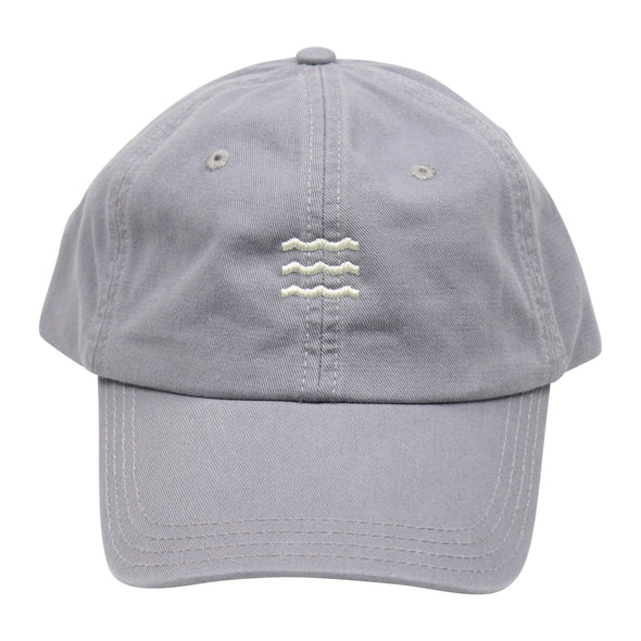 The Rivertown Inkery Hat Grey Waves Cap