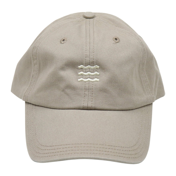The Rivertown Inkery Hat Khaki Waves Cap