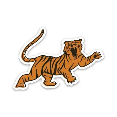 The Rivertown Inkery LLC Sticker Fighting Tiger Sticker