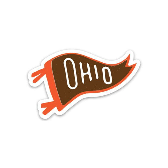 The Rivertown Inkery LLC Sticker Ohio Pennant Sticker