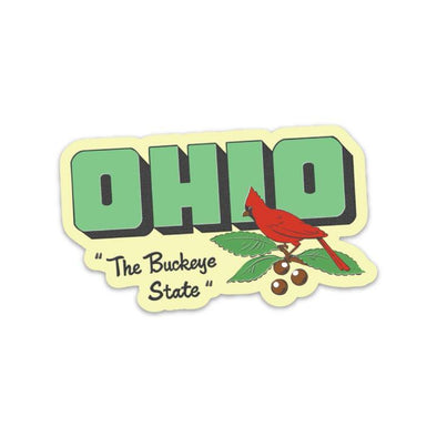 The Rivertown Inkery Sticker Buckeye State Sticker